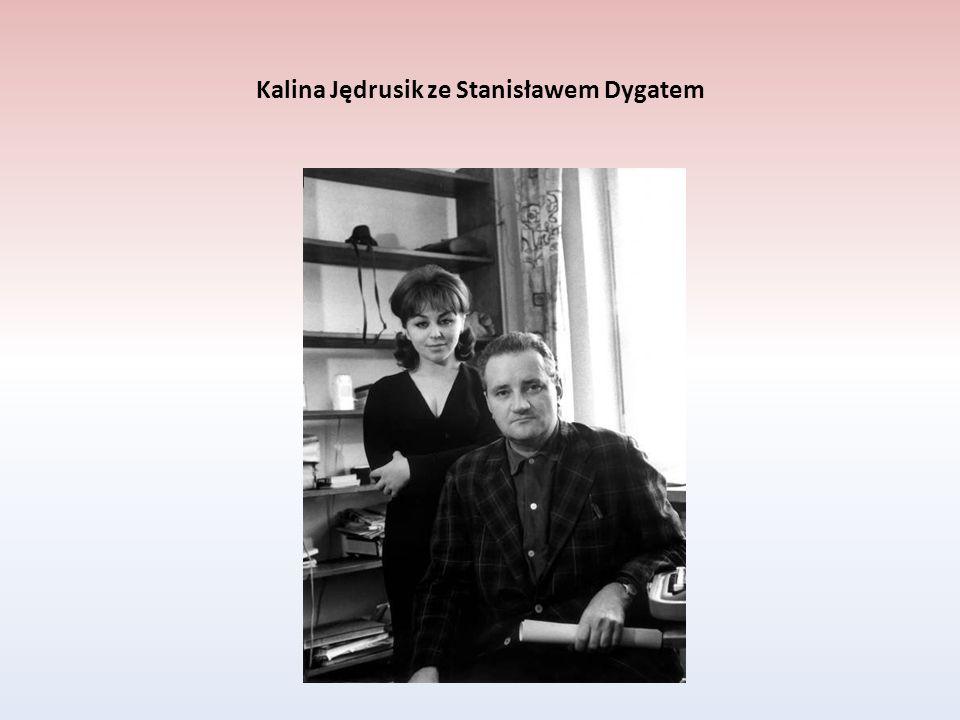 Kalina Jędrusik ze Stanisławem Dygatem