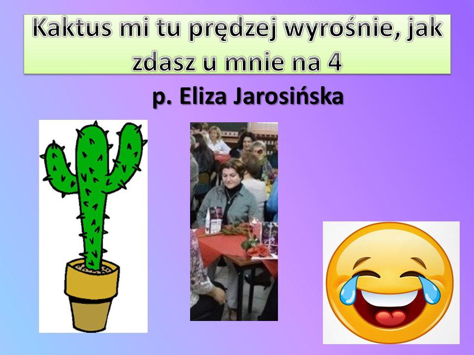 p. Eliza Jarosińska