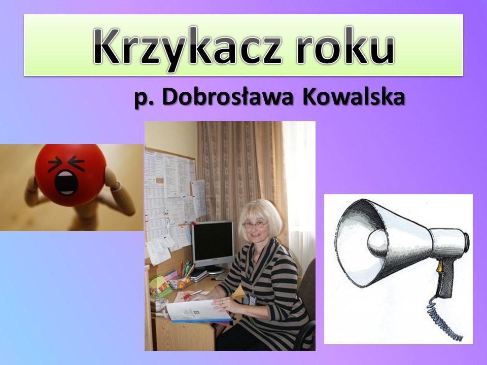 p. Dobrosława Kowalska