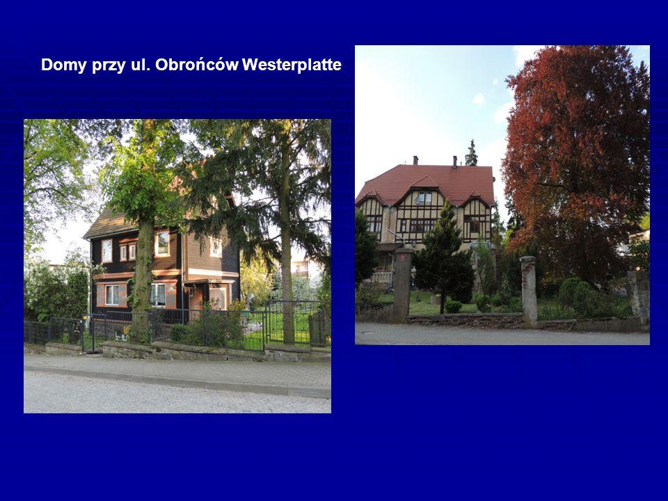 Domy przy ul. Obrońców Westerplatte