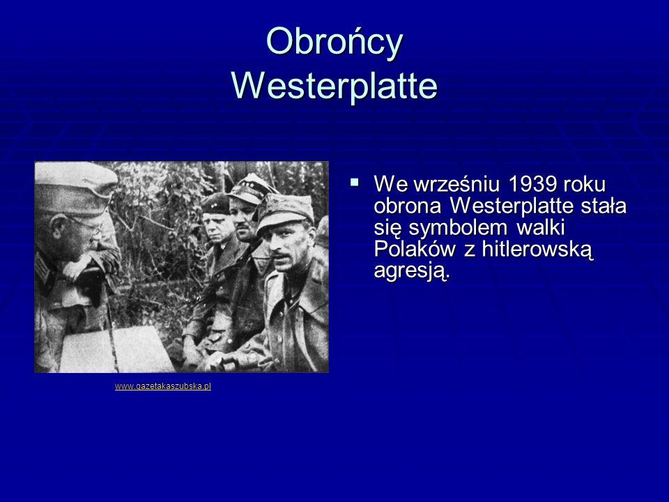 BBBBitwa o Westerplatte, niewielki półwysep u wejścia do portu gdańskiego, na którym znajdowała się Polska Składnica Wojskowa, miała trwać zaledwie kilka godzin, do czasu nadejścia pomocy, a trwała siedem dni.
