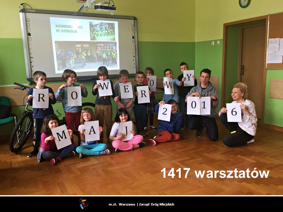 1417 warsztatów m.st. Warszawa | Zarząd Dróg Miejskich