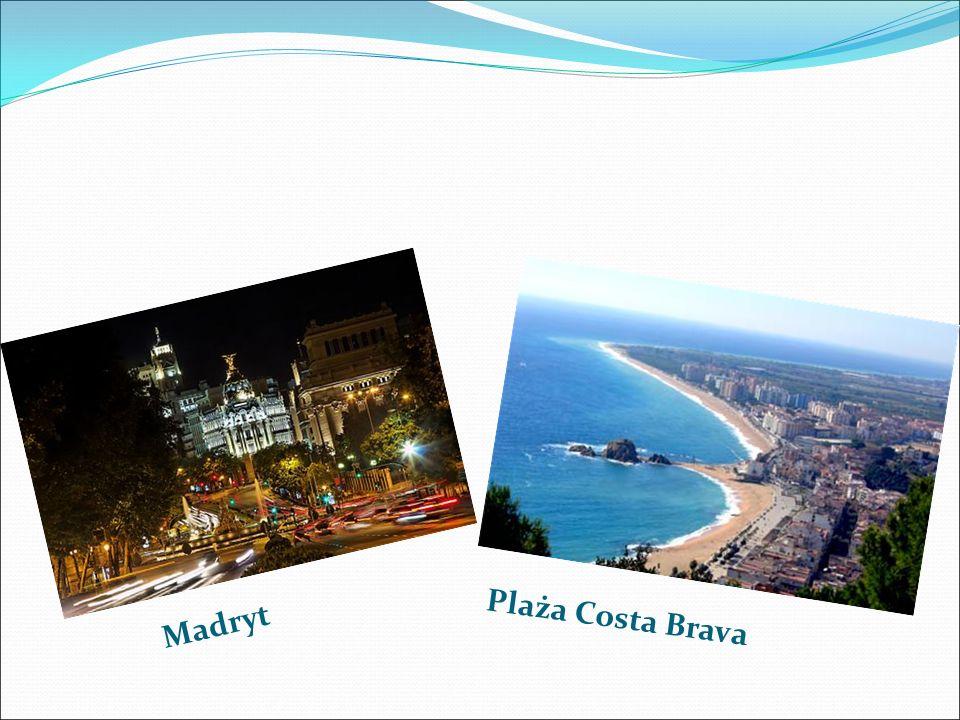 Madryt Plaża Costa Brava