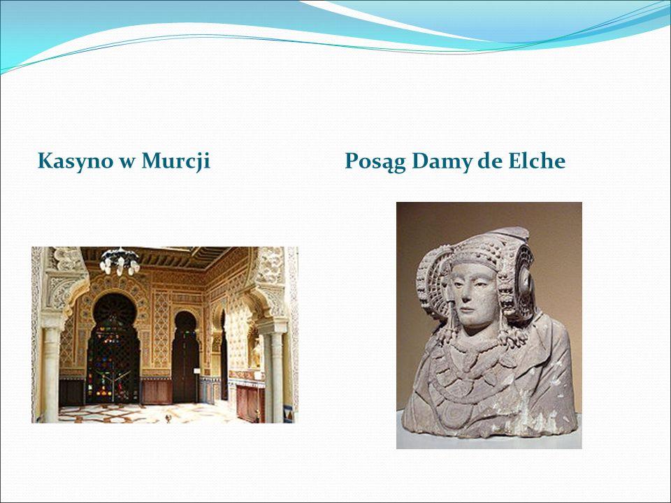 Kasyno w Murcji Posąg Damy de Elche