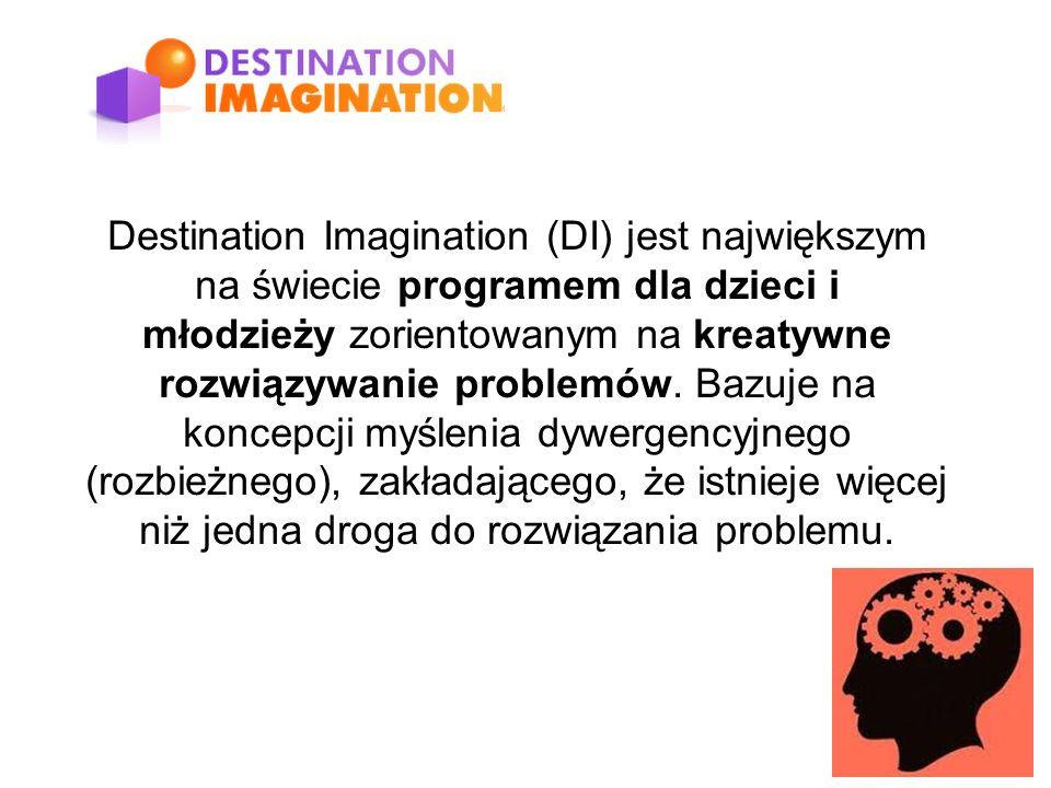 Destination Imagination (DI) jest największym na świecie programem dla dzieci i młodzieży zorientowanym na kreatywne rozwiązywanie problemów.