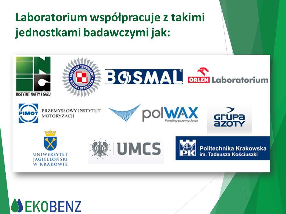 Laboratorium współpracuje z takimi jednostkami badawczymi jak: