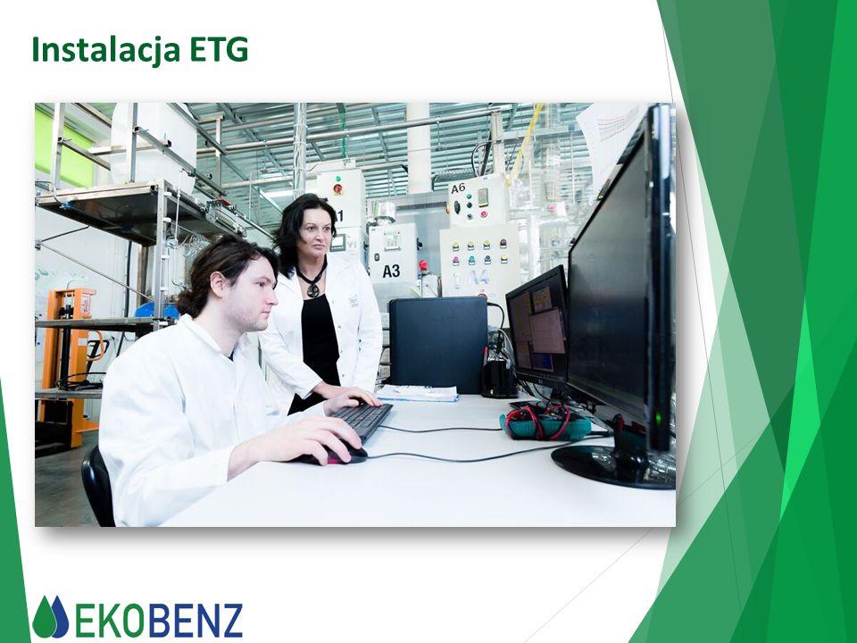 Zalety produktu  Stwarza doskonałą możliwość realizacji Narodowego Celu Wskaźnikowego NCW - wysoka wartość opałowa produktu Ekobenz, większa niż 43 MJ/kg, daje efektywną możliwość realizacji Narodowego Celu Wskaźnikowego, ponieważ minimalny udział biokomponentów w ogólnej ilości sprzedawanych i zużywanych paliw liczony jest właśnie wg wartości opałowej biokomponentu.