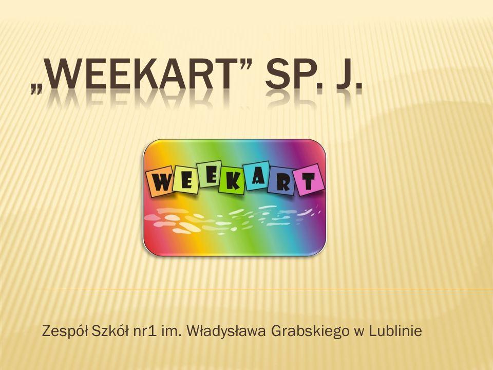 """Firma """"Weekart zajmuje się produkcją i rozpowszechnianiem kartek okolicznościowych, a także innych praktycznych i użytecznych gadżetów, przydatnych uczniom (i nie tylko!)."""