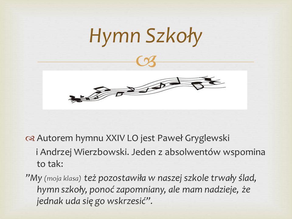 Część Oryginału Hymnu