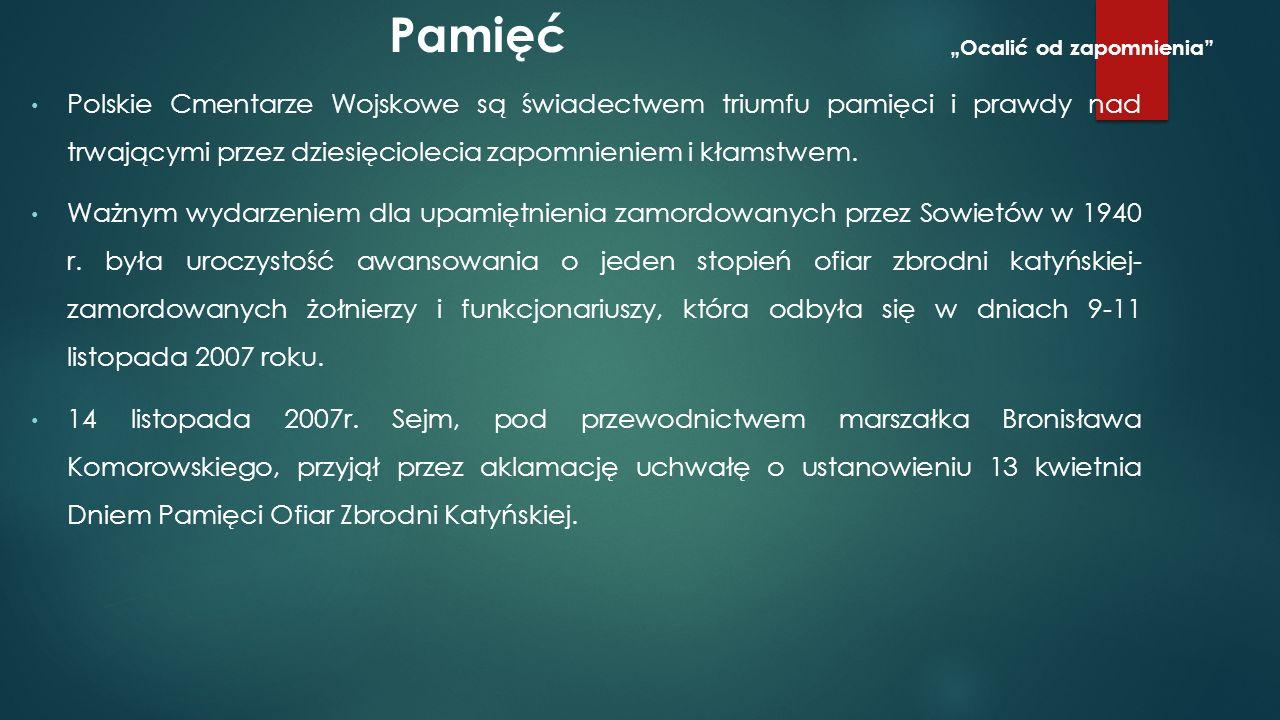 W roku 2002 w otoczeniu prezydenta Rosji Władimira Putina pojawiła się informacja o odkryciu nowych miejsc kaźni polskich oficerów.