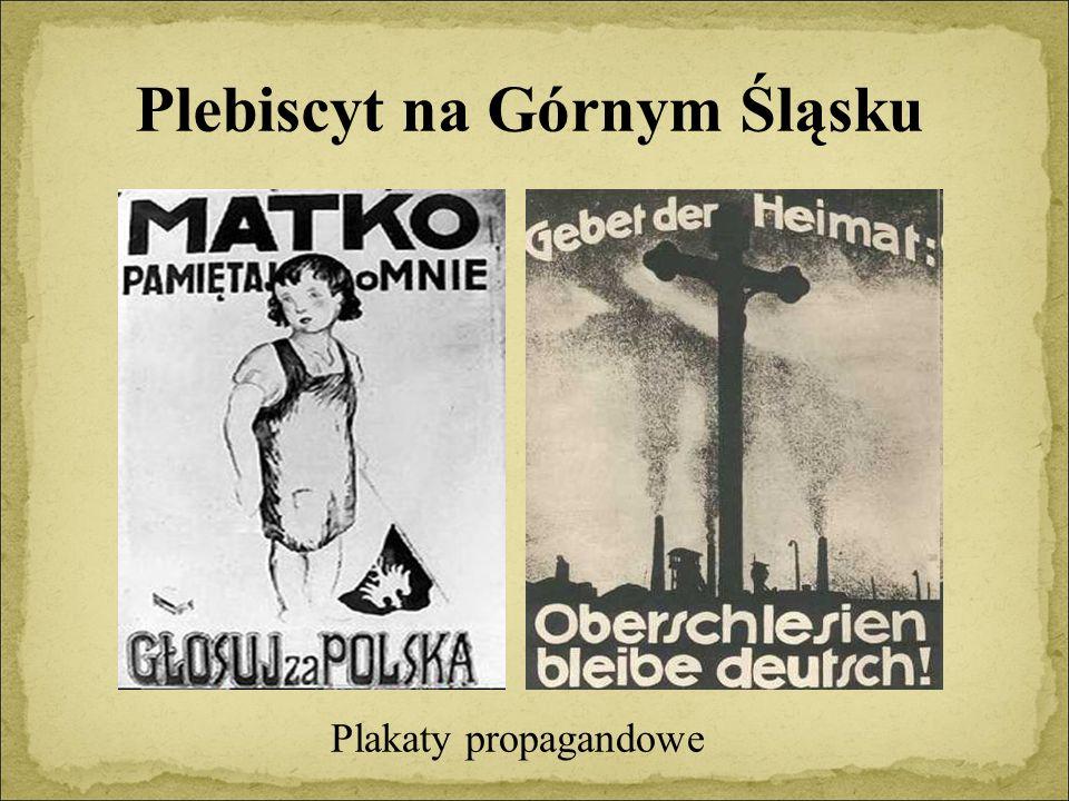Plebiscyt na Górnym Śląsku Plakaty propagandowe