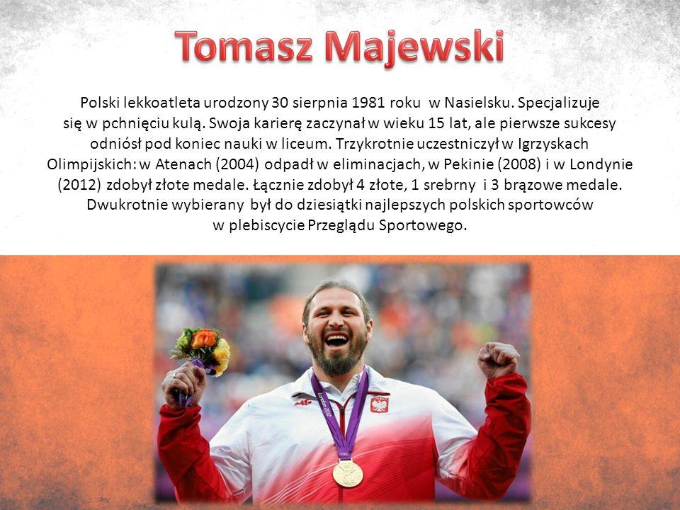 Polski lekkoatleta urodzony 30 sierpnia 1981 roku w Nasielsku.