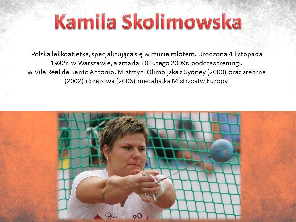 Polski wioślarz, urodzony 20 sierpnia 1974r.w Gdańsku.