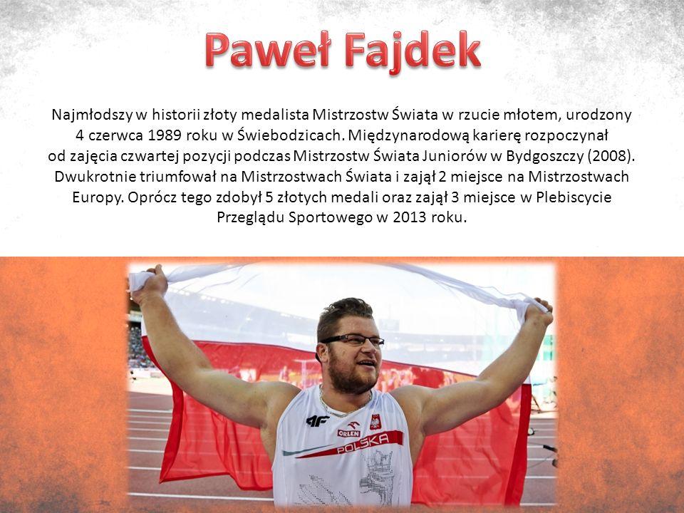 Urodzony 7 czerwca 1983r.w Żurominie polski sportowiec, którego specjalnością jest rzut dyskiem.