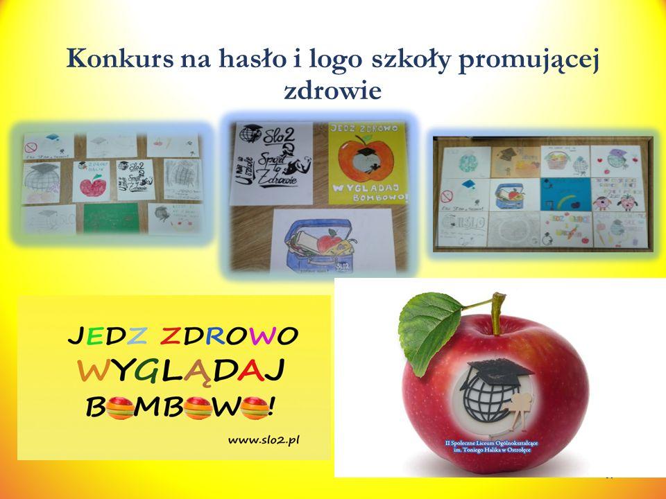 Konkurs na hasło i logo szkoły promującej zdrowie 30