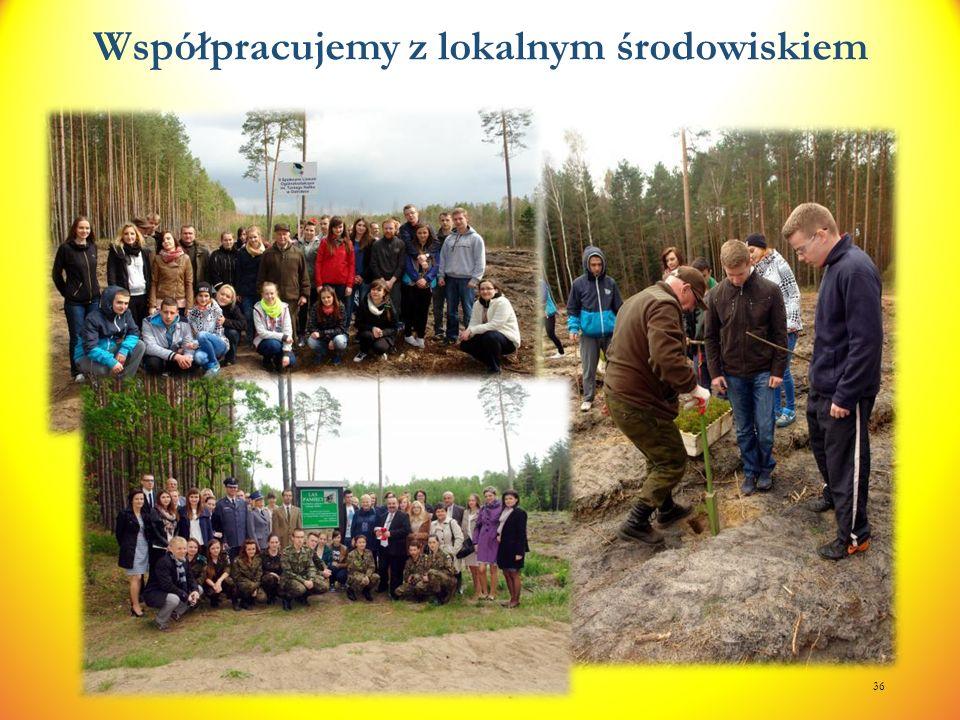 Współpracujemy z lokalnym środowiskiem 36