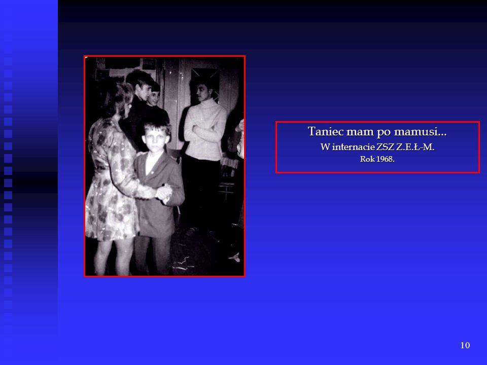 9 Sławek z mamą, Danutą Owczarek – rok 1968.
