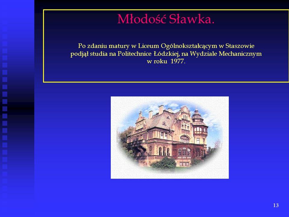 12 Sławek z Wiesią Szychowską. Obóz zimowy – Myczkowce '1972 r.