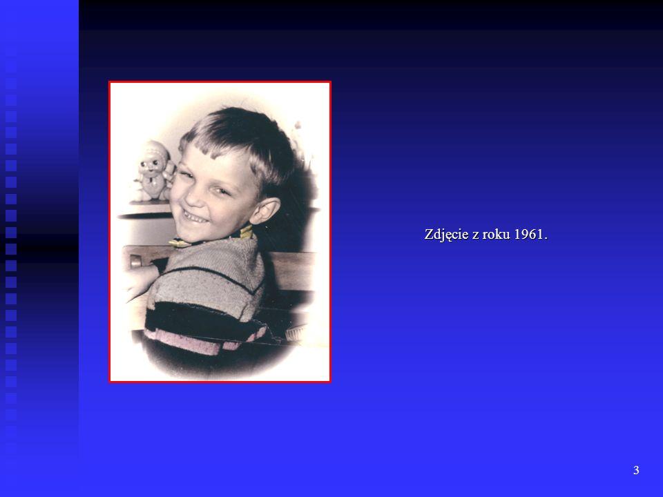 2 Chrzciny Sławka. Grudzień '1958 r. Łódź. Chrzestni : Krystyna Przyborowska. Zenon Strzykalski.