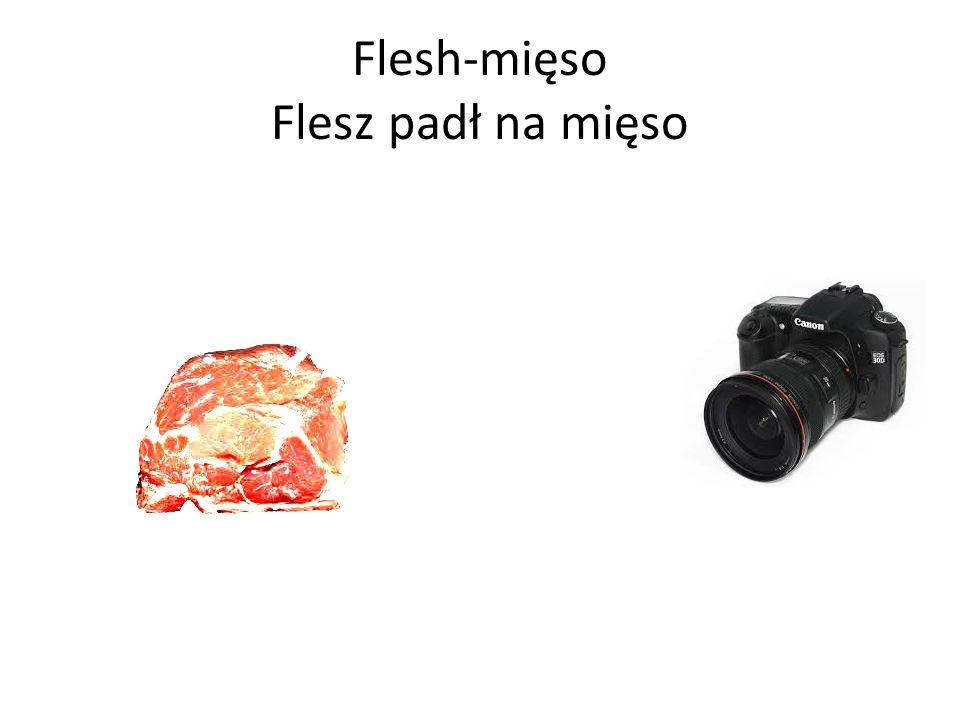 Flesh-mięso Flesz padł na mięso