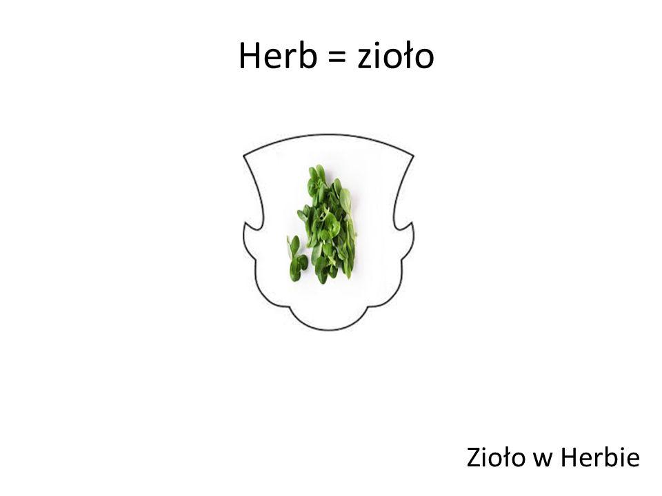 Herb = zioło Zioło w Herbie