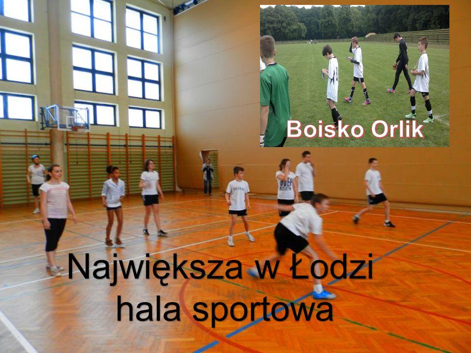 Największa w Łodzi hala sportowa