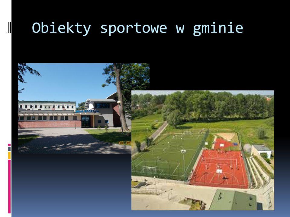 Obiekty sportowe w gminie
