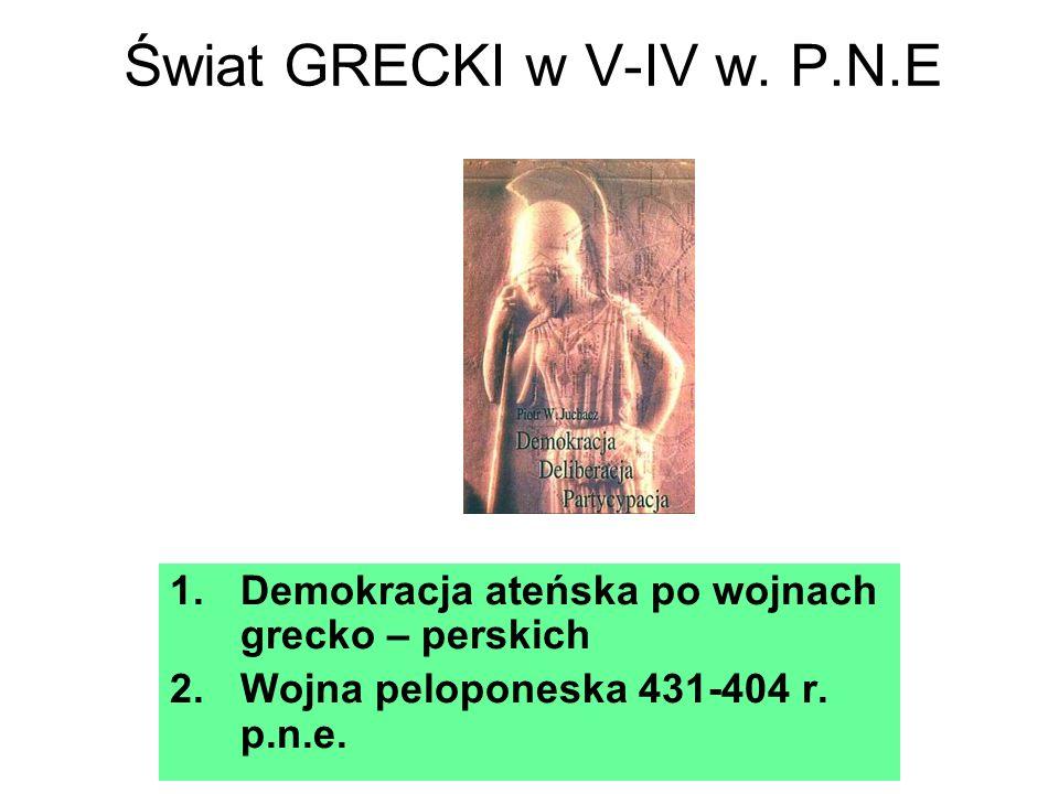 Świat GRECKI w V-IV w.