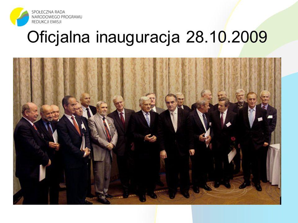 Oficjalna inauguracja 28.10.2009