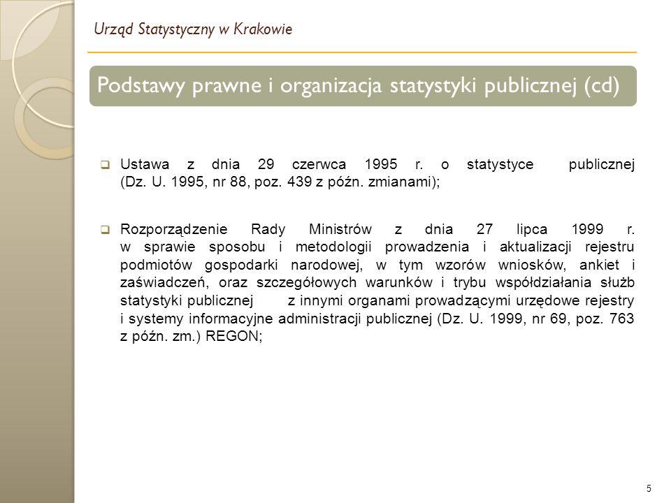 5  Ustawa z dnia 29 czerwca 1995 r. o statystyce publicznej (Dz.