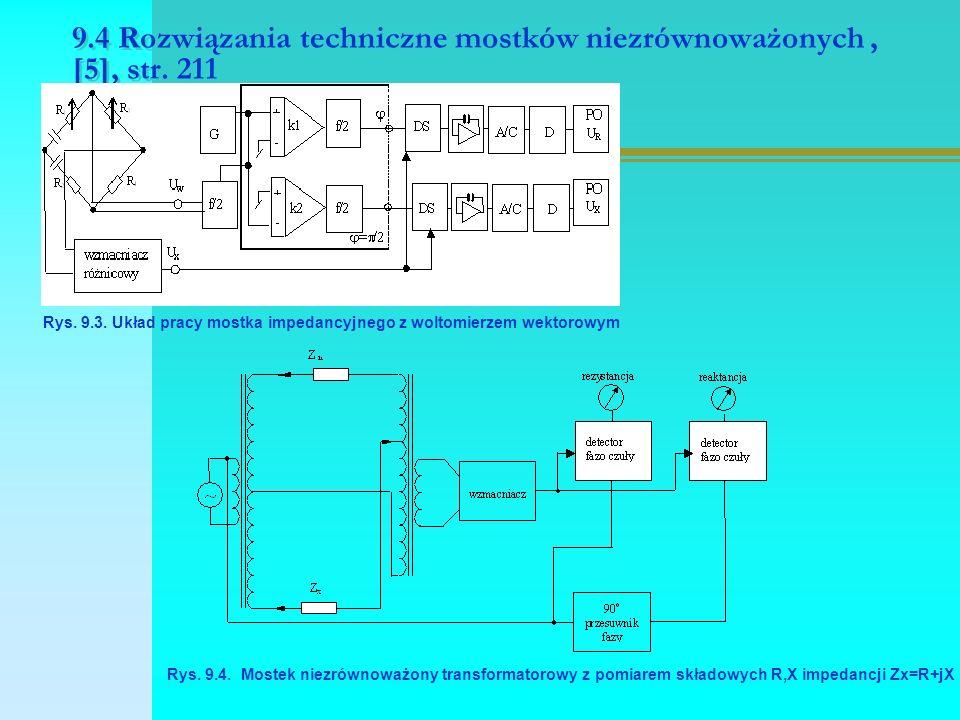 9.4 Rozwiązania techniczne mostków niezrównoważonych, [5], str.