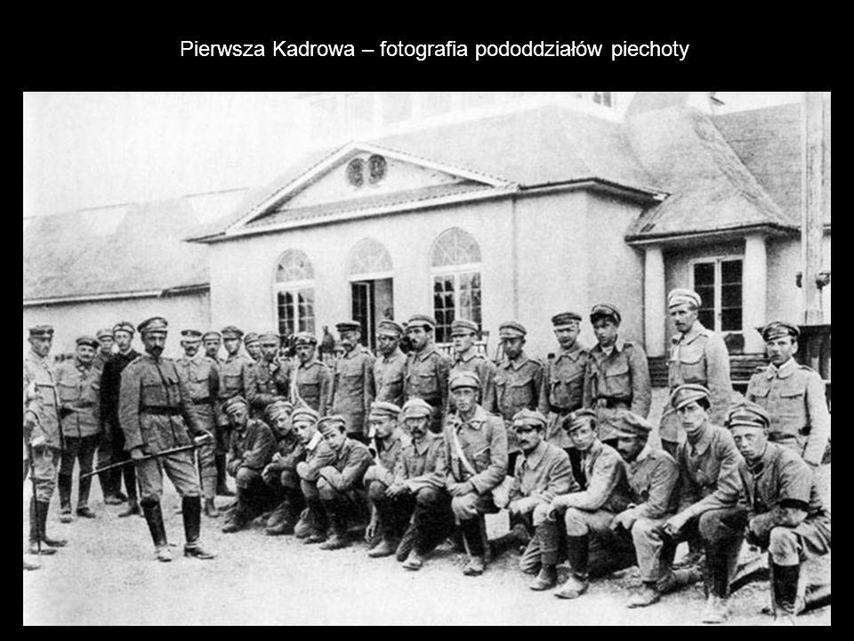 Pierwsza Kadrowa – fotografia pododdziałów piechoty