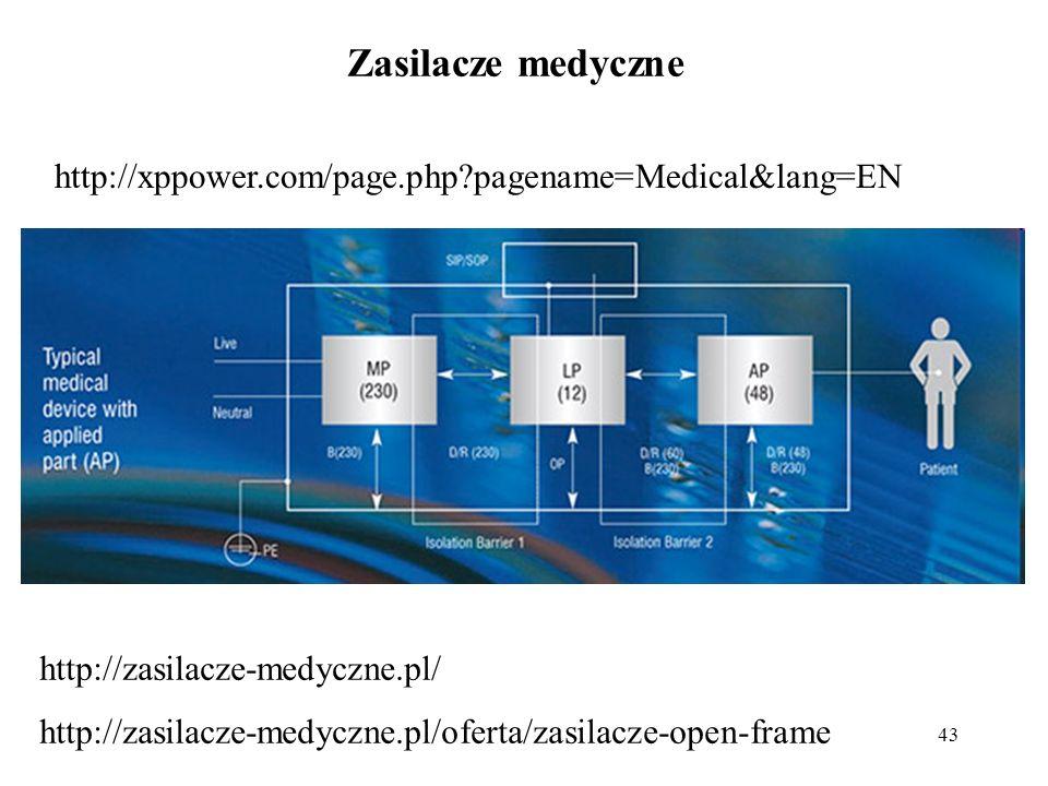 43 Zasilacze medyczne http://xppower.com/page.php?pagename=Medical&lang=EN http://zasilacze-medyczne.pl/ http://zasilacze-medyczne.pl/oferta/zasilacze
