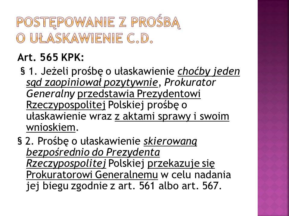 Art. 565 KPK: § 1.