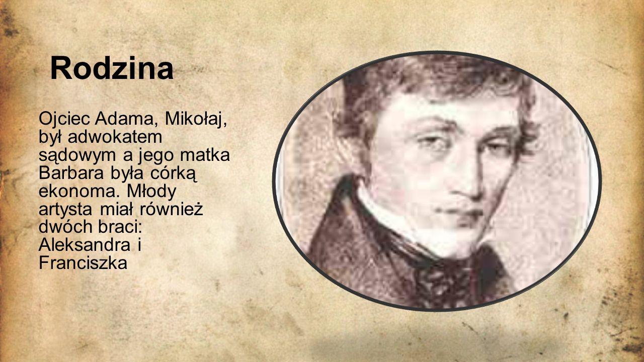 Dzieciństwo W latach 1807–1815 uczęszczał do dominikańskiej szkoły powiatowej w Nowogródku.