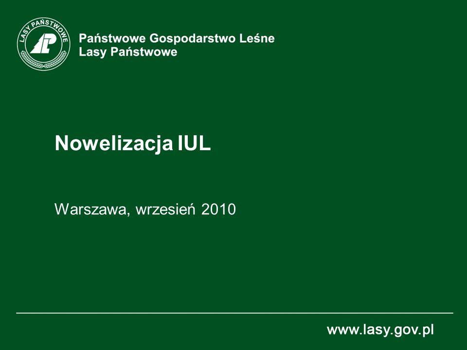 Nowelizacja IUL Warszawa, wrzesień 2010