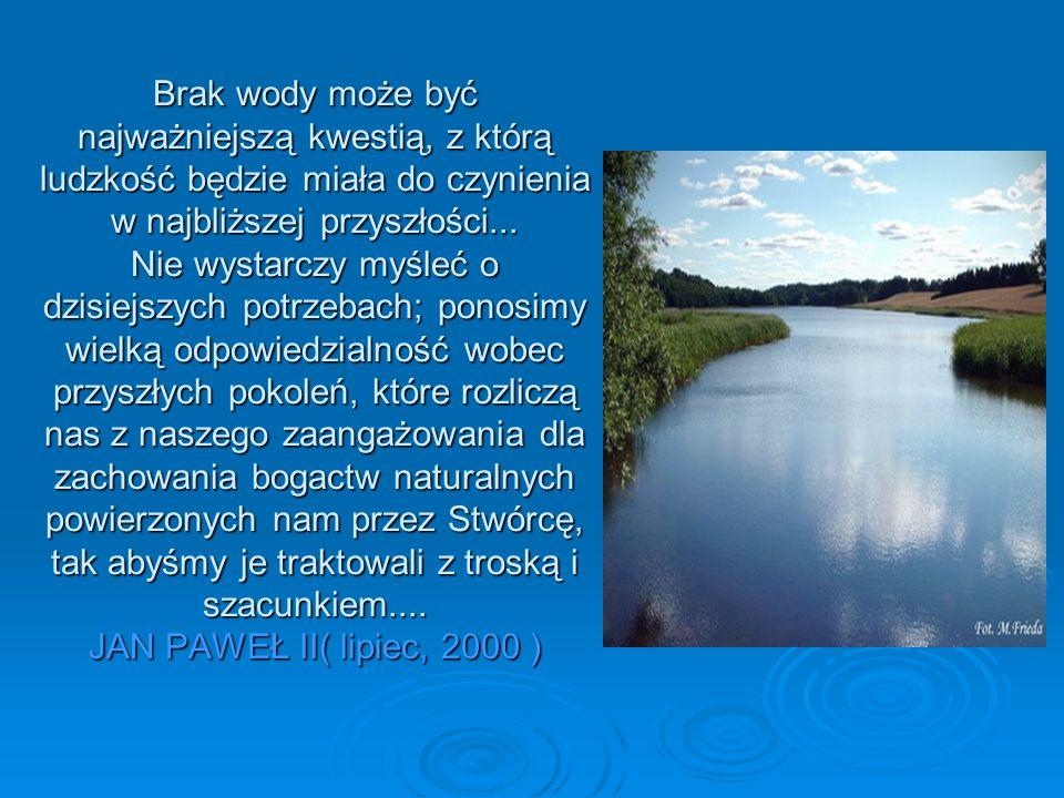 Brak wody może być najważniejszą kwestią, z którą ludzkość będzie miała do czynienia w najbliższej przyszłości...