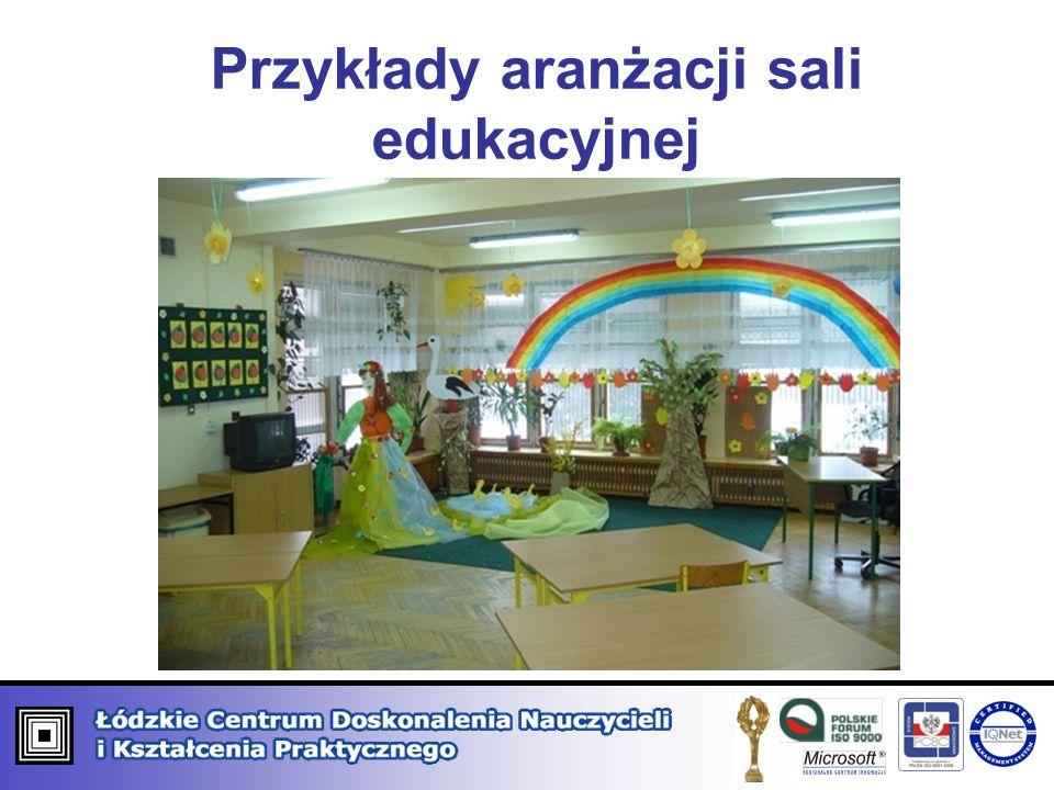 Przykłady aranżacji sali edukacyjnej