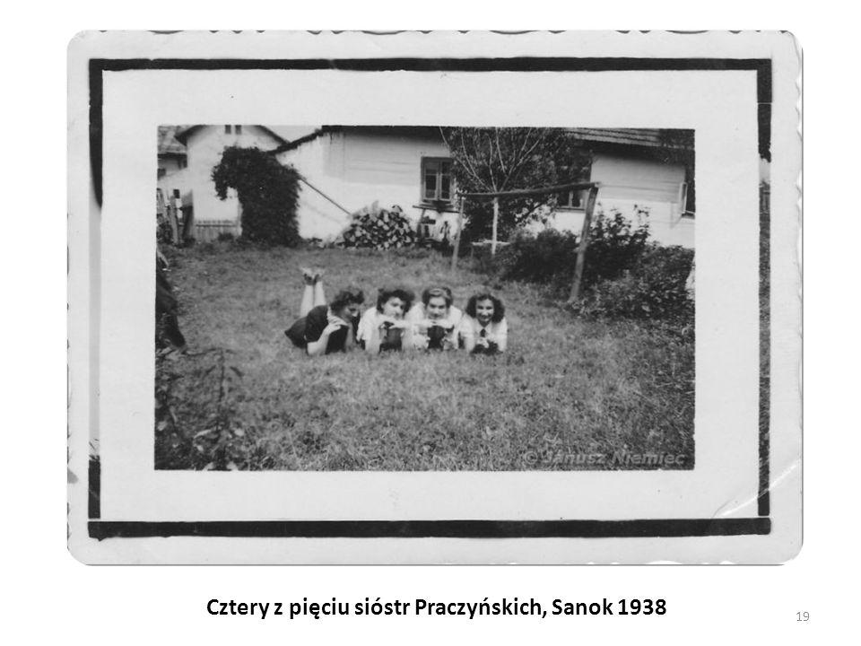 Cztery z pięciu sióstr Praczyńskich, Sanok 1938 19