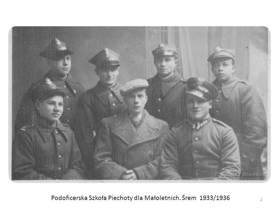 Podoficerska Szkoła Piechoty dla Małoletnich. Śrem 1933/1936 2