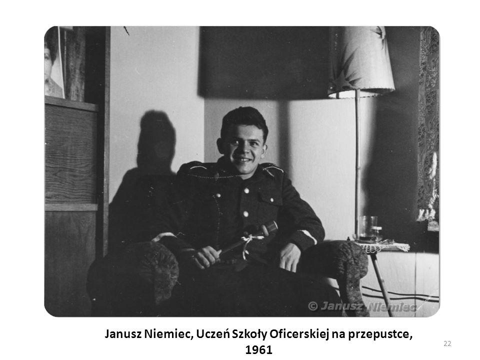 Janusz Niemiec, Uczeń Szkoły Oficerskiej na przepustce, 1961 22