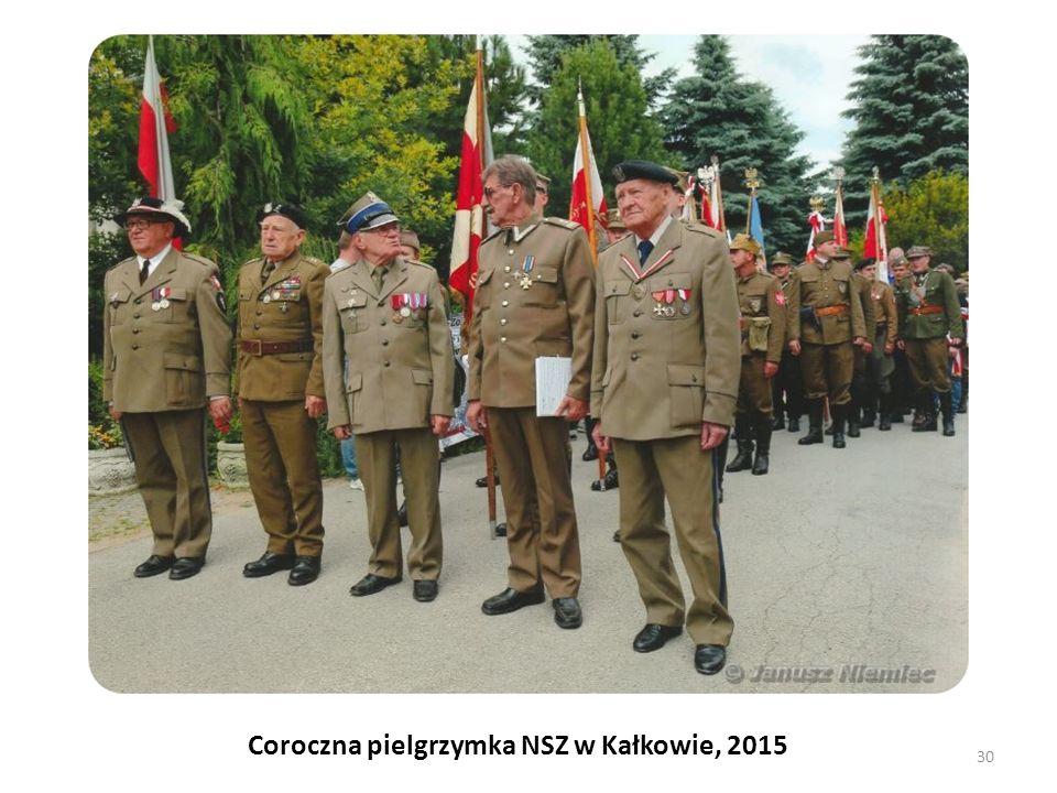Coroczna pielgrzymka NSZ w Kałkowie, 2015 30