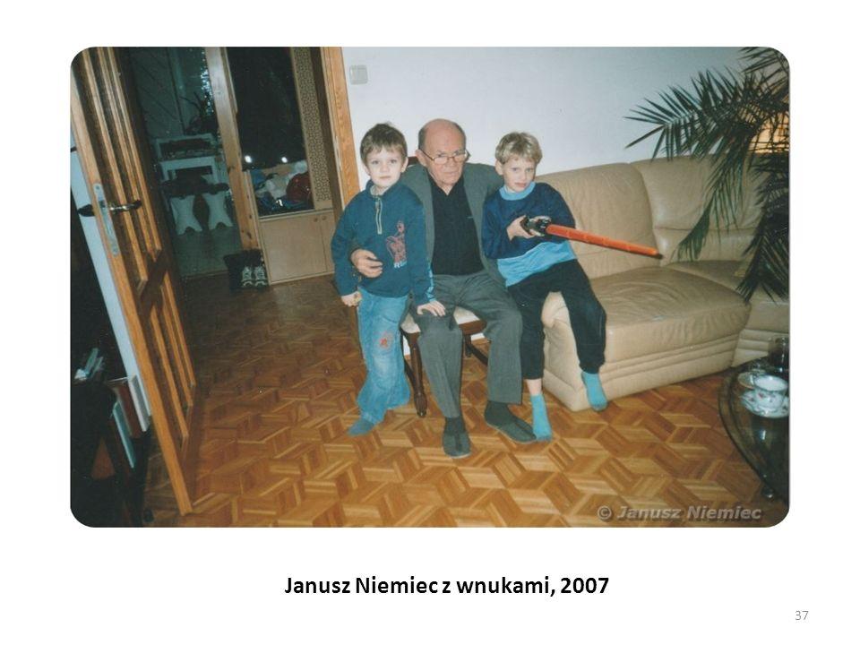 Janusz Niemiec z wnukami, 2007 37