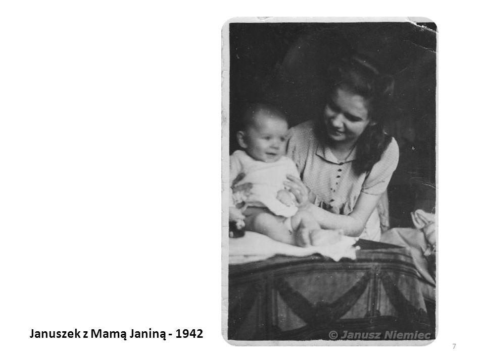 Januszek z Mamą Janiną - 1942 7