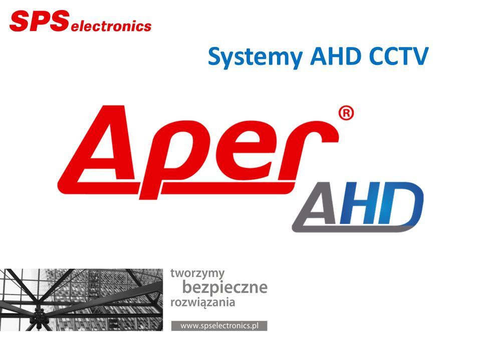 Technologia AHD Rozdzielczości megapikselowe Sygnał analogowy Medium transmisyjne:.