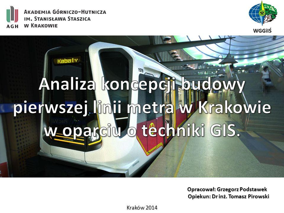Opracował: Grzegorz Podstawek Opiekun: Dr inż. Tomasz Pirowski Kraków 2014 Opiekun: Dr inż. Tomasz Pirowski Kraków 2014