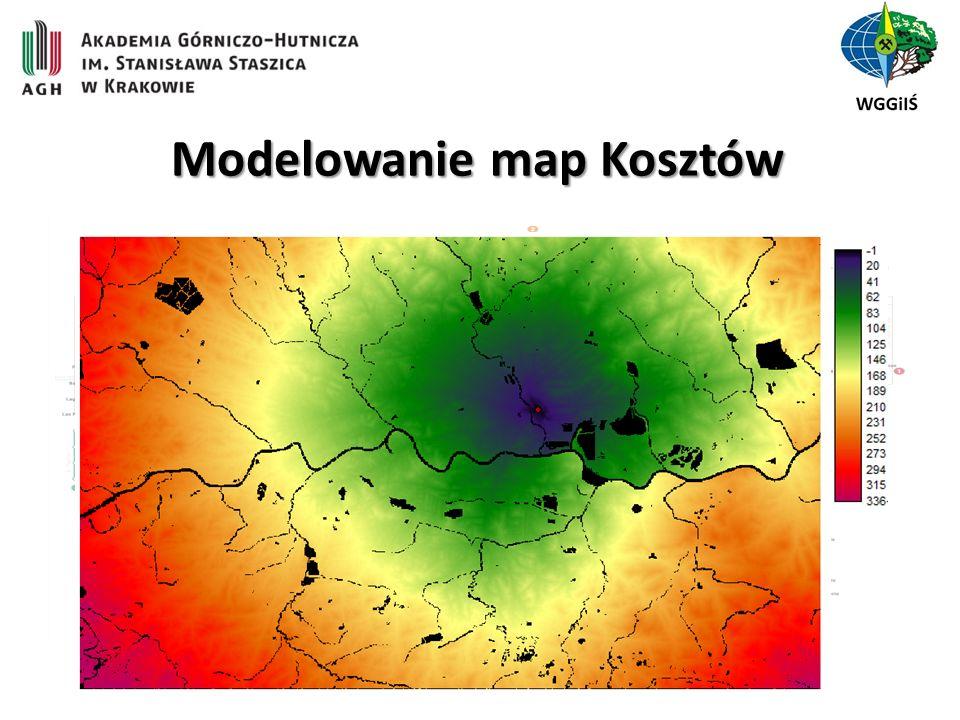 Modelowanie map Kosztów
