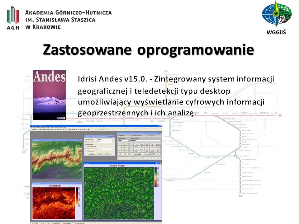 Zastosowane oprogramowanie