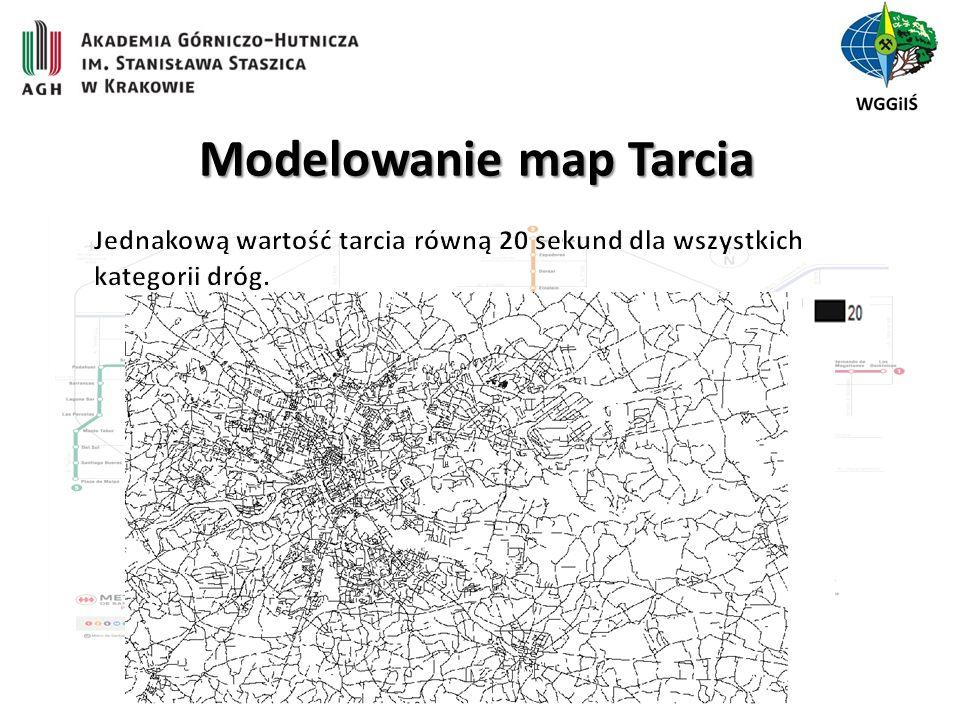 Modelowanie map Tarcia