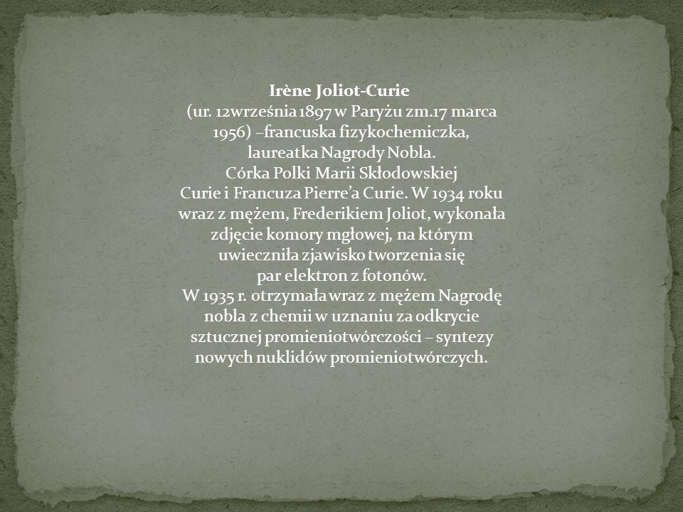 Irène Joliot-Curie (ur.